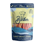 Beg & Barker Turkey Breast Strips Human Grade Dog Treats, 10-oz Bag