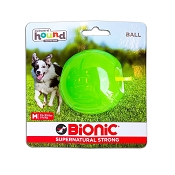Bionic Ball Dog Toy, Green, Medium