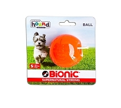 Bionic Ball Dog Toy, Orange, Small