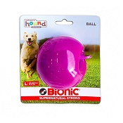 Bionic Ball Dog Toy, Purple, Large