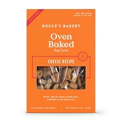 Bocce's Bakery Oven-Baked Grain-Free Cheese Recipe Dog Treats, 12-oz Box