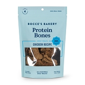 Bocce's Bakery Protein Bones Chicken Recipe Dog Treats, 5-oz Bag