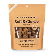 Bocce's Bakery Soft & Chewy Cheese Recipe Dog Treats, 6-oz Bag