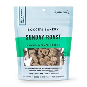 Bocce's Bakery Sunday Roast Soft & Chewy Dog Treats, 6-oz Bag