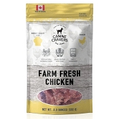 Canine Cravers Farm Fresh Chicken Dog Treats, 5.3-Ounces