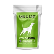 Canine Matrix Skin & Coat Organic Supplement for Dogs, 100 Grams