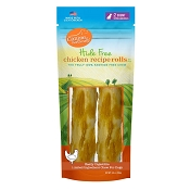 Canine Naturals Hide Free Chicken Recipe Extra Large Rolls Dog Chew Treats, 2-Count Bag