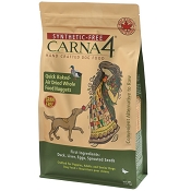 Carna4 Grain-Free Duck Recipe Quick Baked Air Dried Whole Food Nuggets Dog Food, 6-lb bag