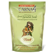 Carna4 Flora4 Ground Sprouted Seeds Supplement & Digestive Aid for Dogs, 18-oz bag