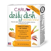 Caru Daily Dish Chicken Stew Grain-Free Wet Dog Food, 12.5-oz, case of 12
