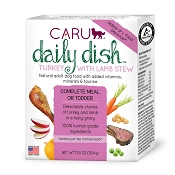 Caru Daily Dish Turkey with Lamb Stew Grain-Free Wet Dog Food, 12.5-oz, case of 12