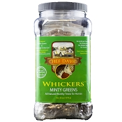 Chef David Whickers Minty Greens Horse Treats, 38-oz Tub