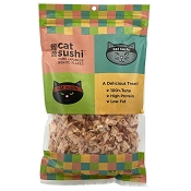 Presido Cat Sushi Classic Cut Japanese Bonito Flakes Cat Treat, 4-oz Bag