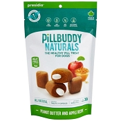 Presido Naturals Pill Buddy Peanut Butter & Apple Recipe Dog Treats