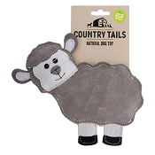 Country Tails Baa Sheep Natural Dog Toy