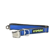 Cycle Dog Eco-Friendly Blue MAX Reflective Dog Collar, Medium