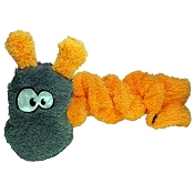 Cycle Dog Duraplush Coil Caterpillar Eco-Friendly USA Dog Toy