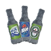 Cycle Dog Duraplush Craft Beer Bottle Eco-Friendly USA Dog Toy