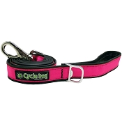 Cycle Dog Eco-Friendly Hot-Pink MAX Reflective Dog Leash