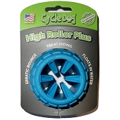 Cycle Dog High Roller Plus USA Dog Toy, Blue, Large