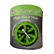Cycle Dog High Roller Plus USA Dog Toy, Green, Small