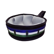 Cycle Dog USA Made Trail Buddy Collapsible Dog Travel Bowl, Cascadia Flag