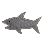 DOOG Outback Tails Shazza The Great White Shark Dog Toy