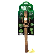 DOOG Stick Family WOODY Rubber Dog Toy