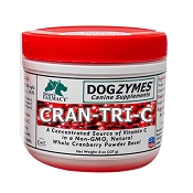 Dogzymes Cran Tri C Supplement for Dogs, 8-oz