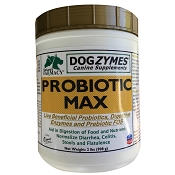 Nature's Farmacy Dogzymes Probiotic Max Dog Supplement, 2-lb