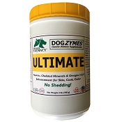 Dogzymes Ultimate Vitamin, Mineral & Omega Blend Dog Supplement, 2-lb