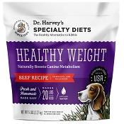 Dr. Harvey's Healthy Weight Beef Recipe Dehydrated Dog Food, 5-lb Bag