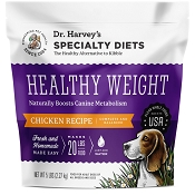 Dr. Harvey's Healthy Weight Chicken Recipe Dehydrated Dog Food, 5-lb Bag