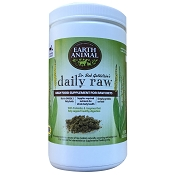 Earth Animal Daily Raw Powder Cat & Dog Food Supplement, 1-lb Bag