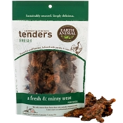 Earth Animal USA FRESH Herbed Chicken Tenders Dog Treats, 4-oz Bag