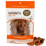 Earth Animal USA MELLOW Calming Herbed Chicken Tenders Dog Treats, 4-oz Bag