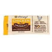 Etta Says! Chicken Deli Sausages Meaty Dog Treats, Case of 12