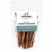 Farm Hounds Premium Turkey Gizzards Dog Treats, 4.5-oz Bag