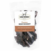 Farm Hounds Premium Beef Kidney Dog Treats, 4.5-oz Bag