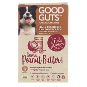 Fidobiotics Good Guts For Medium Mutts Daily Probiotic Supplement for Dogs