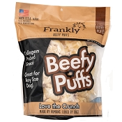 Frankly Pet USA Beefy Venison Flavored Puffs Dog Treats, 5-oz Bag