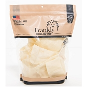 Frankly Pet USA 100% Collagen Natural Beef Chew Chips for Dogs, 1-lb Bag
