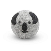FriendSheep Koala Wool Ball Dog Toy, 3-Inch