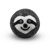 FriendSheep Sloth Wool Ball Dog Toy, 3-Inch