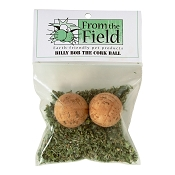 From The Field Billy Bob the Cork Ball Cat Toy with Organic Catnip