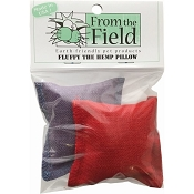 From The Field Fluffy The Hemp Pillow Cat Toys