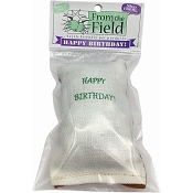From The Field Happy Birthday Silver Vine & Catnip Cat Toy