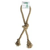 From The Field Tug A Hemp Loop Rope Dog Toy, Large