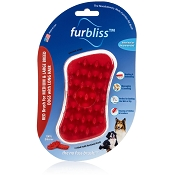 Furbliss Red Brush for Medium & Large Breed Dogs with Long Hair