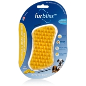 Furbliss Yellow Brush for Medium to Large Breed Dogs with Short Hair
